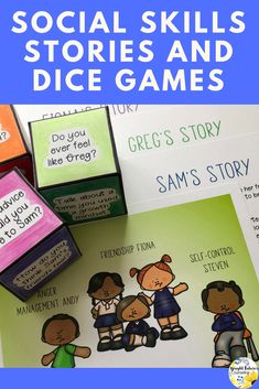 Social skills games and activities for kids. Helps students learn social skills and prosocial . Social Skills For Kids, Social Skills Activities, Teaching Social Skills, Social Emotional Learning, Student Learning, Therapy Activities, Elementary School Counselor, School Counseling, Group Counseling