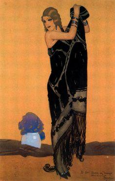 By Rafael de Penagos (1889-1954).