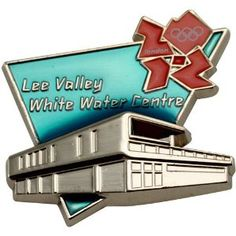 Price: $8.95 - Olympics London 2012 Olympics Lee Valley White Water Centre Venue Pin - TO ORDER, CLICK THE PHOTO