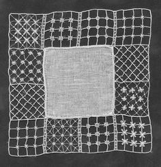 Free needle lace tutorial.