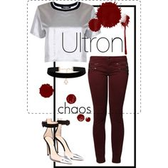 Ultron. by el0723 on Polyvore featuring polyvore, fashion, style, Kaporal, Gianvito Rossi and Forever New