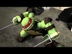 TMNT 2012~Raphael~Monster - YouTube
