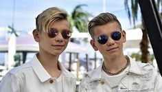 My love 😍😍😍 Mirrored Sunglasses, Mens Sunglasses, M Photos, Twin Brothers, Fit, My Favorite Things, Guys, My Love, Celebrities