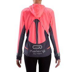 RUNNING_textil Ropa de mujer - Sudadera cortavientos de running de mujer Kalenji Evolutiv By Night KALENJI - Ropa de mujer