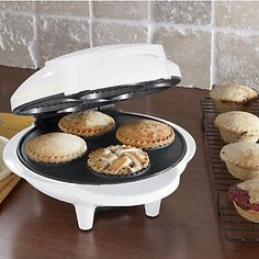 Ginny's Brand Mini Pie Maker creates single-serve treats that the whole family can enjoy for snacks, dinners and desserts! ~ www.ginnys.com