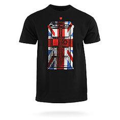 ThinkGeek :: Union Jack TARDIS Follow Me