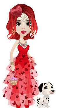 My Look today! Valentine edition