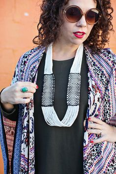 Woven Infinity Necklace DIY