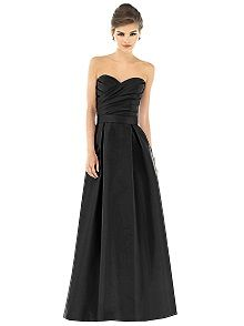 Alfred SungStyle D539  #black #bridesmaid #dress