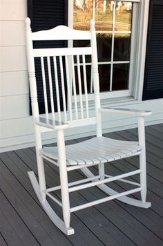 Adult Spindle Back Rocking Chair.  Great addition to your Porch!