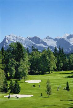 Golfspielen in Seefeld