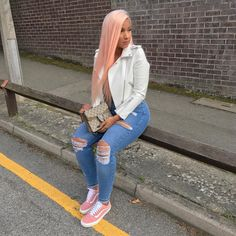 20 Tips for Who Want To Wear Business Casual Jeans Women Dope Outfits, Chic Outfits, Fall Outfits, Fashion Outfits, Fashion Ideas, Business Casual Jeans, Look Jean, Vetement Fashion, Blue Ripped Jeans