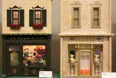 Exhibits from the Fall 2007 Seattle Dollhouse Miniature Show: A Series of Store Fronts Show the Diversity Possible From the Same Dispay Format
