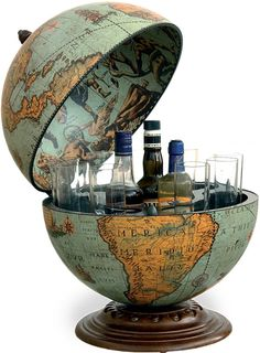 Buy this Zoffoli Laguna Bar Globe for just £119.50? Beautiful Antique Blue Bar Globe