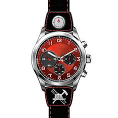 Firefighter Stainless Steel Chronograph Sports-Style Watch | Shared by LION