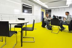 University of Nottingham - School of Computer Science Labs: Vitra .03 chairs with Vitra Map tabes.