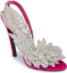 Embellished Slingback Sandal