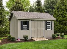 Are you looking for a backyard shed for better storage management? If so, you're in luck as Sheds Unlimited has the best quality-built sheds in PA. Get your storage shed today and begin having Space For Life. Vinyl Storage Sheds, Storage Sheds For Sale, Outdoor Storage Sheds, Outdoor Sheds, Shed Storage, Backyard Storage, Shed Landscaping, Backyard Sheds, Concrete Sheds