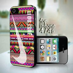 Nike Just Do It Aztec Pattern design for iPhone 4 or 4s case