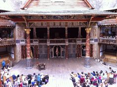 London photo of the day: Shakespeare's Globe theatre