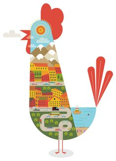 Cockmorning by Jorfe , via Behance