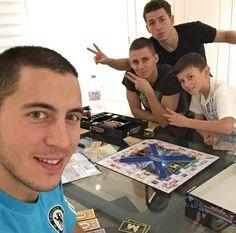 Hazard Brothers #footballislife