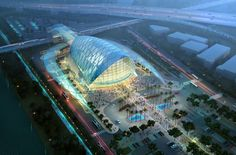 Anaheim Regional Transportation Intermodal Center | Anaheim, California, USA | As the premier transportation hub in Southern California, the ARTIC brings together transit, dining, retail and entertainment options in an iconic terminal building.
