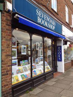 Hidden depths. Sevenoaks Bookshop, Kent