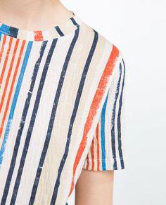 Image 6 of PRINTED T-SHIRT from Zara