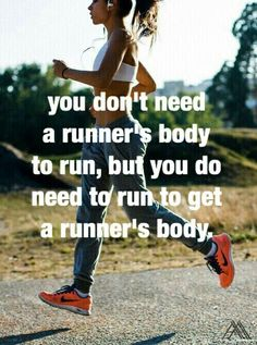 I wanna be a runner!!