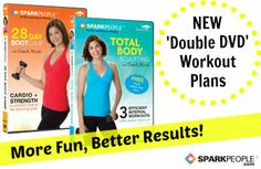 You Asked for It: A Workout Plan for BOTH SparkPeople DVDs via @SparkPeople