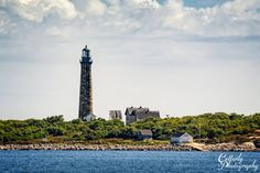 Thatcher Island South Light, near Rockport, Massachusetts  by Wayne Cotterly photography