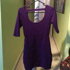 FOREVER 21 BODY CON DRESS sweater style Forever 21 Dresses