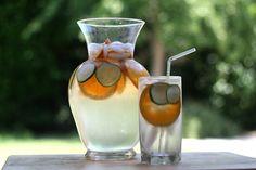 Orange Cucumber Water