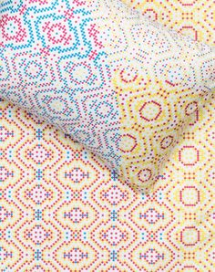 Venn - Artist Duvet Covers and Pillows by Sarah Parke & Mark Barrow Conceptual Framework, Bedding Collections, Duvet Covers, Weaving, Quilts, Blanket, Pillows, Artist, Fabric