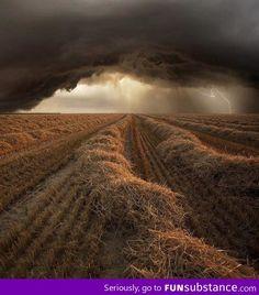 Storm. Oklahoma has it's own beauty.