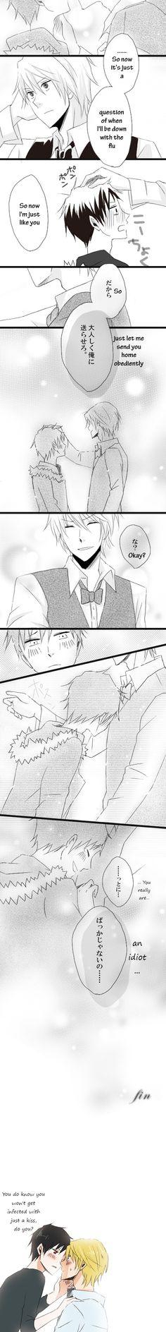 Shizuo bring Izaya back home 5/5