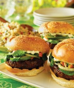 Hawaii Da Kine  Burgers : This recipe won the Grand Prize and the People's Choice Award.