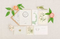 Boho-Inspired Wedding Invitation Suite