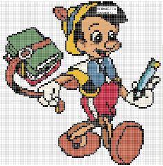 ENCANTOS EM PONTO CRUZ: Pinoquio