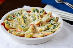Yummy! Prosciutto and Spinach Stuffed Shells