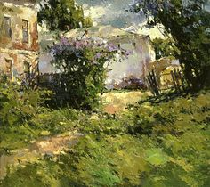 Courtyard at a monastery,  Alexi Zaitsev