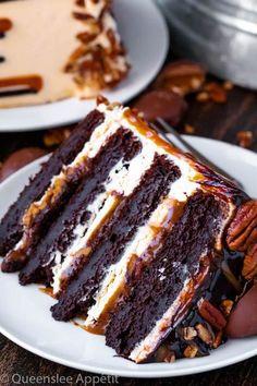 Layer Cake Recipes, Easy Cake Recipes, Cheesecake Recipes, Layer Cakes, Dessert Recipes, Cake Filling Recipes, Dessert Ideas, Food Cakes, Cupcake Cakes