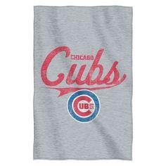 Chicago Cubs Sweatshirt Throw