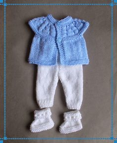 Baby Clothes Knitted Free Patterns Fresh Marianna S Lazy Daisy Days Little Baby Trousers Knit Baby Pants, Baby Cardigan, Baby Knits, Knitted Baby Outfits, Baby Outfits Newborn, Baby Doll Clothes, Doll Clothes Patterns, Babies Clothes, Baby Dolls