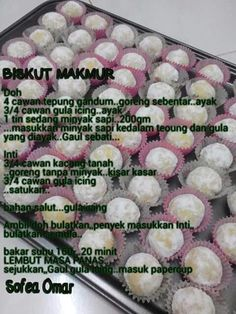 Biskut makmur Biscuits, Food And Drink, Layer Cakes, Cookies, Desserts, Recipes, Rain, Projects, Crack Crackers