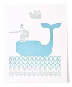ô la baleine bleue !
