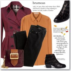A fashion look from September 2015 featuring Acne Studios tops, Burberry coats and J.Crew jeans. Browse and shop related looks.