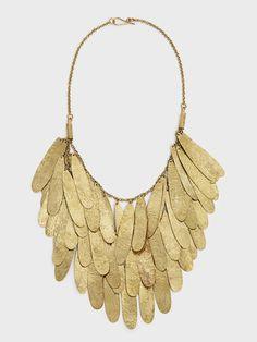Nama Teardrop Fringe Necklace by Raven + Lily | DARA Artisans