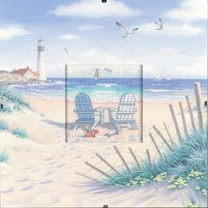 Beach Retreat - Daydreams Cross Stitch Kit